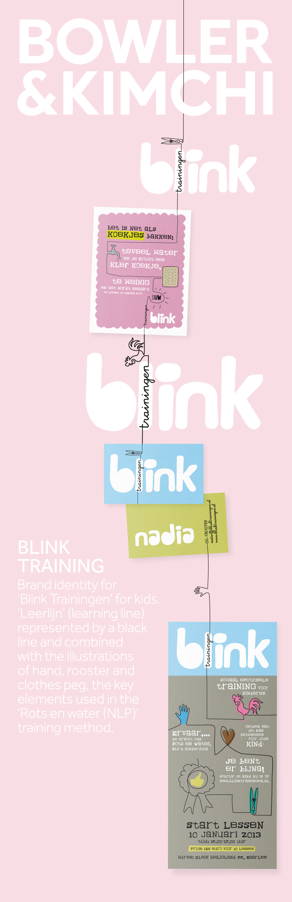 Brand Identity Blink Trainingen
